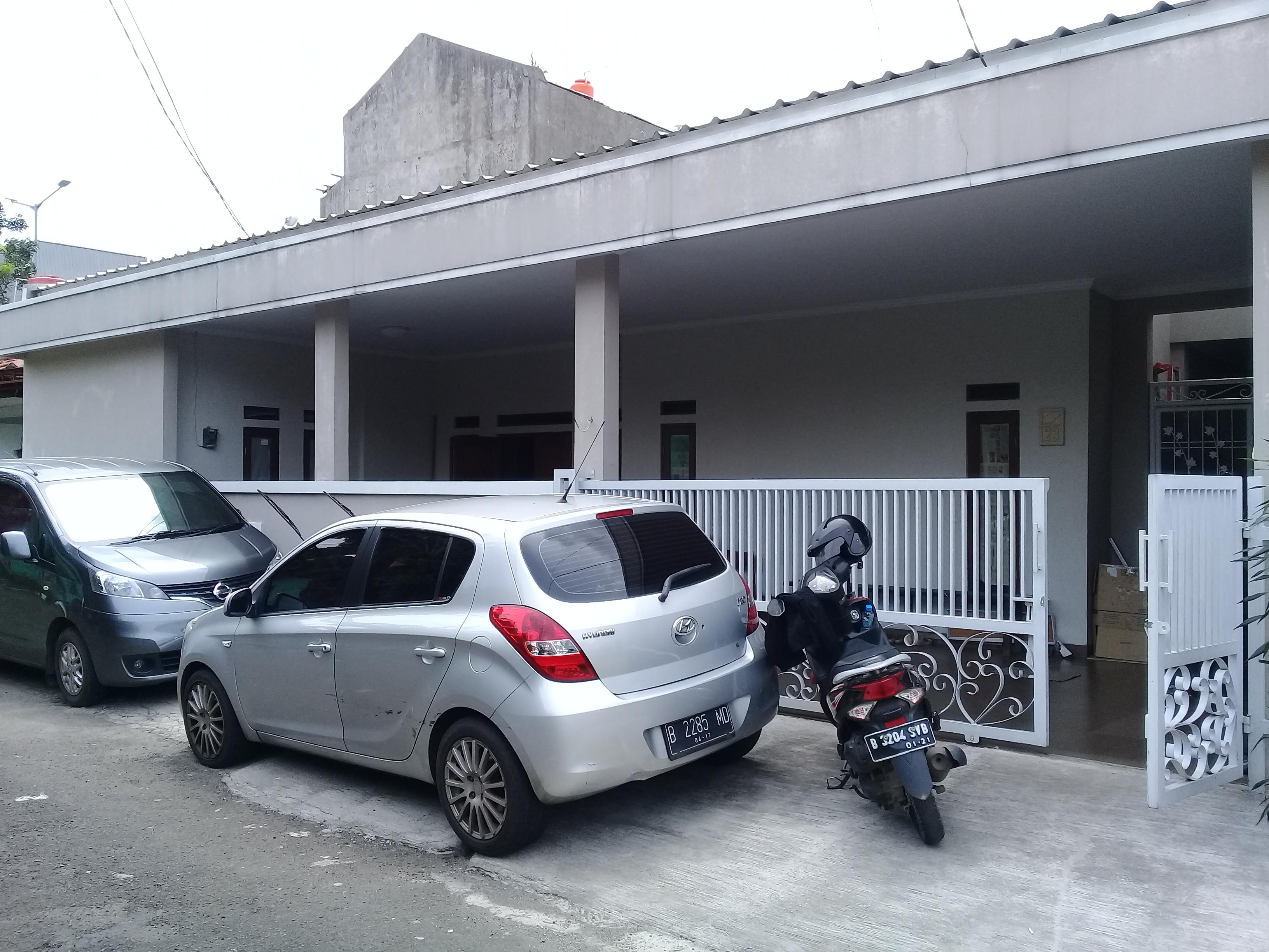 Rumah Komplek Bea Cukai PasarMinggu Siap Huni