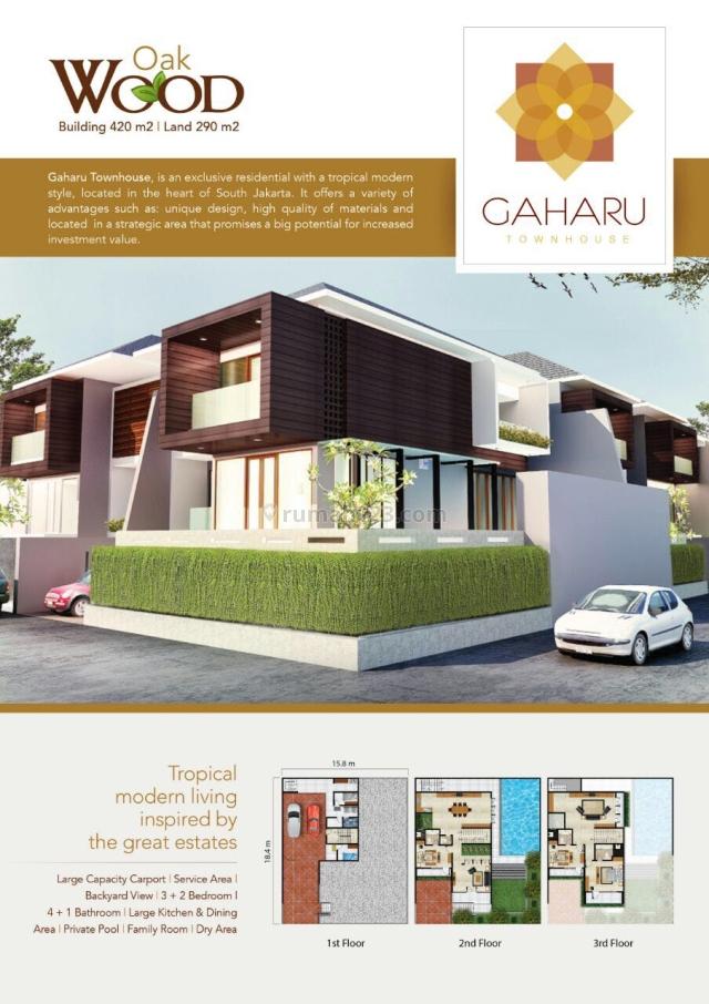 Brand New At Gaharu – cipete, Jakarta Selatan