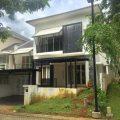 WTS Rumah Asri Minimalis Cluster Kebayoran Garden di kawasan Kebayoran Residence dekat taman