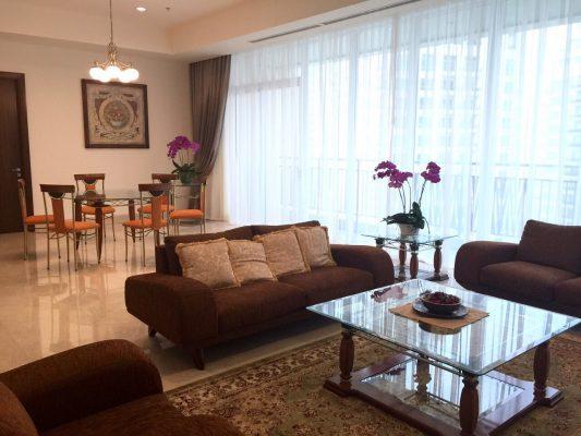Apartemen Istimewa, Fully Furnished Siap Huni