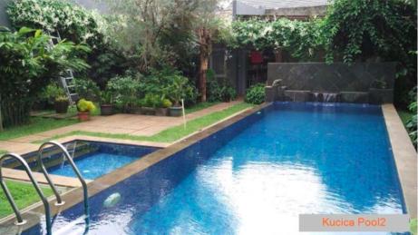Rumah Cantik Bintaro, Furnished, Tanah Luas cocok utk Investasi, Bintaro, Tangerang
