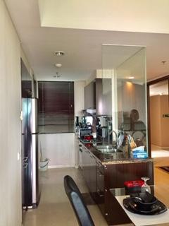 WTR 2+1 BR Apartment Kemang Village 12th Floor Furnished Murah Bagus