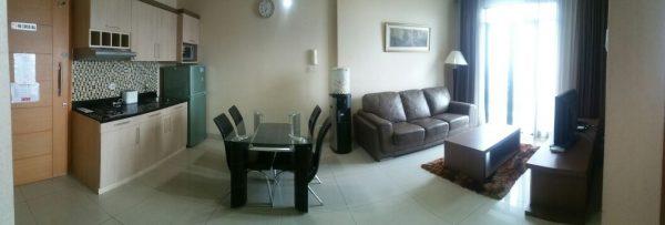 Di sewakan / For Rent Apartement Hampton Park 2BR Fully Furnished Pondok Indah Jakarta Selatan
