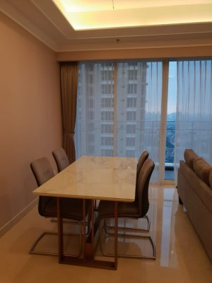 Jual Apartemen Baru Pondok Indah Residence 3 + 1 BR, Pondok Indah Jakarta Selatan
