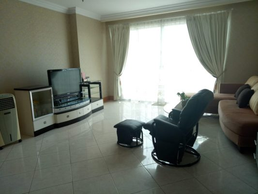 Disewakan Apartemen Grand ITC Permata Hijau 3 BR, Jakarta Selatan